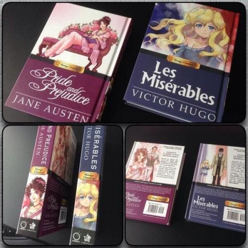 First Manga Classics Titles!